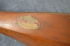 "antique vintage Old Town canoe paddle 60"" long original finish"