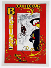 Bearings - The Cycling Authority - Original Vintage Bicycle Poster - Cycling