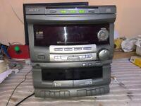 DAEWOO AMI-308M Amplificador de CD de cassette estéreo No probado