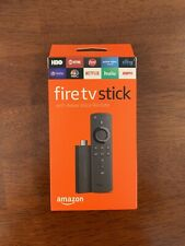Amazon Fire Stick w/Alexa Voice Remote, 2nd Generation Black (LY73PR)