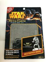 Star Wars Fascinations Metal Earth DESTROYER DROID  AT-ST 3D Model Kit