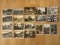 AK 19 x alte Ansichtskarte Ilsenburg Brocken Harz Schloß Goetheschule Waldweg ..