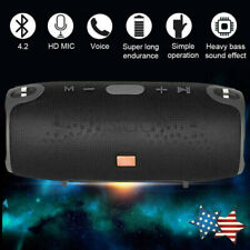 40W Bluetooth V4.1 Speaker Wireless Outdoor Stereo Loud Waterproof USB/TF/AUX FM