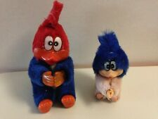 RARE LOT 2 PELUCHES A PINCE WOODY WOODPECKER - VINTAGE
