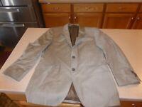 Boss Hugo Boss Mens Wool Sport Coat Blazer Jacket Beige sz 38R