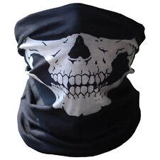 Fahrrad-Ski-Schädel-halbe Gesichtsmaske Ghost-Schal Multi Use Neck Warmer COD