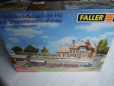 Faller H0 Bahnhofset Rosenstein, 5 Gebäudebausätze, OVP ungeöffnet