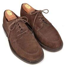 dbfdda713d0 BROOKS BROTHERS Brown Suede Oxfrod Moc Top Blucher Mens Dress Shoes - 7.5 D