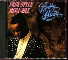 BOBBY BROWN - FREE STYLE MEGA-MIX / SEVENTEEN - JAPAN CD MAXI [1727]