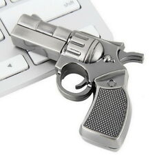 Revolver Gun Model USB2.0 Flash Pen Drive Memory U Stick Thumb Storage 4GB OE