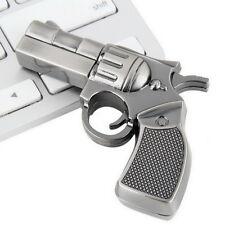 Revolver Gun Model USB2.0 Flash Pen Drive Memory U Stick Thumb Storage 4GB OE