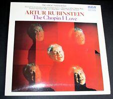Artur Rubinstein - The Chopin I Love - Vinyl LP - RCA Red Seal Records SB 6874
