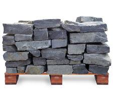 Trockenmauerstein Silbergneis bruchrau Palette 1 to = 1000kg