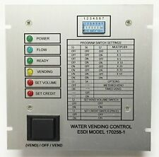 Water Vending Machine Control Board, ESDI Model 170258, New, Reliable, American