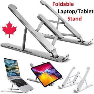 Laptop Stand Adjustable Aluminum Foldable Riser Desk Mount For Macbook Air Pro
