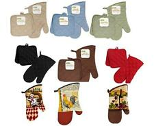 Pot Holder and Oven Mitten Sets Mix and Match  US Seller