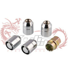 M12x1.5  Wheel Nut Lug Anti Theft 4Pcs With Lock Universal Alloy For Toyota
