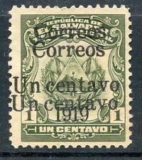 STAMP / TIMBRE / EL SALVADOR N° 419a NEUF SANS GOMME / VARIETE DOUBLE SURCHARGE