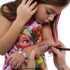 20 Kinder Notfall Nummer Tattoo - Child Lost Tattoo - Kinder Tattoo für Ausflüge