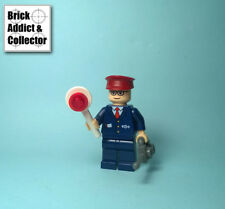 LEGO ® Spider-Man Marvel Figurine Subway Train Conductor SPD030 4855 Rare