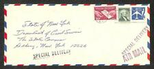 USA UC33 STATIONERY #1031 LIBERTY STAMP E21 SPECIAL DELIVERY NEW YORK COVER 1964