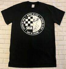 SKA Music is Life  'Black'  T-Shirt
