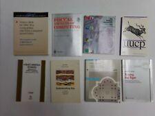 New listing vintage computer manuals Lot of 8 Assorted computer manuals Unix etc