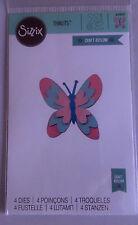 Sizzix Thinlits Prado MARIPOSA 4 Die establecidas por Craft asilo 660809