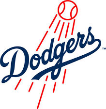 Los Angeles Dodgers MLB Color Die-Cut Decal / Car Sticker *Free Shipping