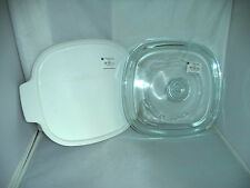 New Pyrex Corning Ware Replacement Lid A9C for 2-3 Qt Casseroles + Plastic Cover