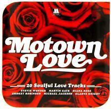 MOTOWN LOVE 20 Soulful Love Tracks - Various Artists NEW CLASSIC SOUL CD  R&B