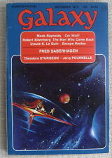 GALAXY December 1974 Love Conquers All by Fred Saberhagen (part two)