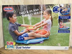 Little Tikes Fun Zone Dual Twister Indoor Outdoor Toddlers Play Fun Garden New