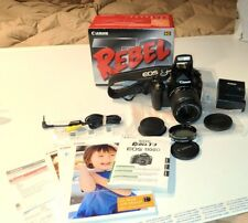 Canon Rebel T3 /1100D  12.2MP DSLR With 18-55mm II Lens Kit 5157B002 [AA] EXTRAS