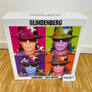 Udo Lindenberg - UDOPIUM Das Beste - Limitierte Fanbox 4 CDs - Ausverkauft! Neu