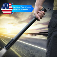 Self Defense Flashlight Led Stick Tactical Walking Weapons Torch Lamp Tool