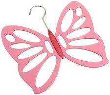 Butterfly Design . Wardrobe Scarf Storage Hanger - Holds upto 14 Scaves & Shawls