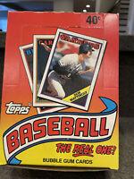 1988 Topps Baseball Wax Box - Possible Tom Glavine, Roberto Alomar PSA 10