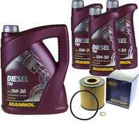 Ölwechsel Set 8L MANNOL Diesel TDI 5W-30 API Motoröl + SCT Filter KIT 10202219