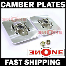 MK1 Square Universal Fit Camber Plates Upper Strut Mounts 79 80 81 82 83 85 RX7