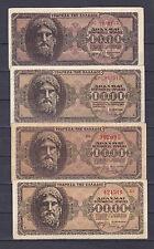 GREECE 500.000 DRH 20-03-1944
