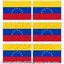 VENEZUELA EX BANDIERA civile (7 stella) Mobile Cellulare Mini Adesivi, Decalcomanie x6