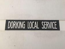 "London Bus Destination Blind 269 31""- Dorking Local Service"