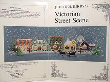 Judith M Kirby 105 Victorian Christmas Street Scene 3 Cross Stitch Pattern Chart