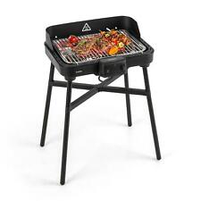 Barbecue Elettrico Griglia Bistecchiera Carne Giardino 800+1900W Portatile 400°