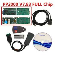 PP2000  LEXIA 3 Diagnostic Interface for Citroen/Peugeot, DIAGBOX 7.83