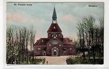 ST PEDERS KIRKE, RANDERS: Denmark postcard (C27112)