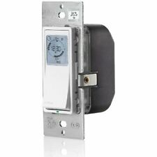 Leviton VPT24-1PZ Timer Switches Vizia 24-Hour Programmable Indoor Timer With