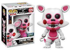 Funko FUNTIME FOXY (Flocked) #129 POP! Five Nights at Freddy's FNAF Vinyl Fig...