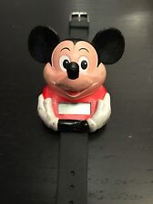 """Vintage Mickey Mouse """"Talking Time"""" Watch"""